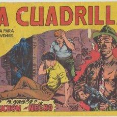 Tebeos: LA CUADRILLA Nº 4. (JUAN BRAVO) MAGA 1964.. Lote 48014248