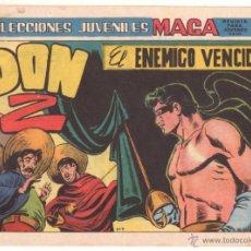 Livros de Banda Desenhada: DON Z 2ª Nº 7 EDI. MAGA 1965 ORIGINAL, ÚLTIMO DE LA COLECCION. Lote 48271266
