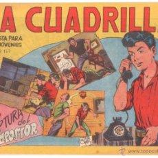 Tebeos: LA CUADRILLA ORIGINAL Nº 20 ( JUAN BRAVO Y SUS CHICOS ) MAGA 1964, MUY DIFICIL. Lote 48271320