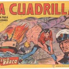 Tebeos: LA CUADRILLA ORIGINAL Nº 21 ( JUAN BRAVO Y SUS CHICOS ) MAGA 1964, MUY DIFICIL. Lote 236313135
