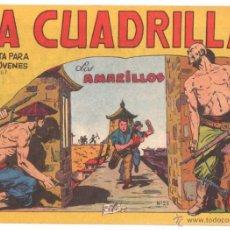 Tebeos: LA CUADRILLA ORIGINAL Nº 23 ÚLTIMO ( JUAN BRAVO Y SUS CHICOS ) MAGA 1964, MUY DIFICIL. Lote 48271341