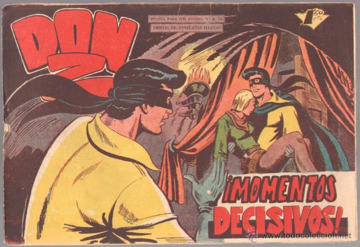 DON Z Nº 53 ORIGINAL - EDI. MAGA 1959 - DIBUJO SERCHIO - (Tebeos y Comics - Maga - Don Z)