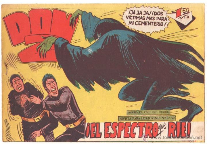 DON Z Nº 62 ORIGINAL - EDI. MAGA 1959 - DIBUJO SERCHIO - (Tebeos y Comics - Maga - Don Z)