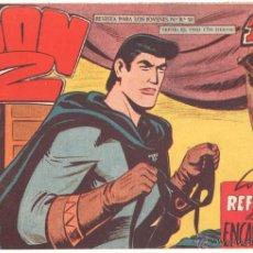 Livros de Banda Desenhada: DON Z Nº 72 ORIGINAL - EDI. MAGA 1959 - DIBUJO SERCHIO - EXCELENTE ESTADO. Lote 48290222