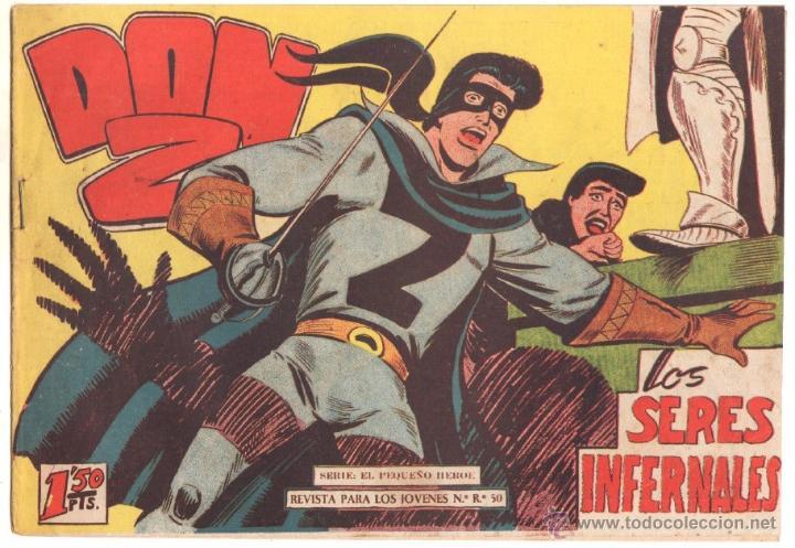 DON Z Nº 70 ORIGINAL - EDI. MAGA 1959 - DIBUJO SERCHIO - (Tebeos y Comics - Maga - Don Z)