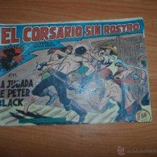 Tebeos: EL CORSARIO SIN ROSTRO Nº 29 EDITORIAL MAGA ORIGINAL . Lote 48454950