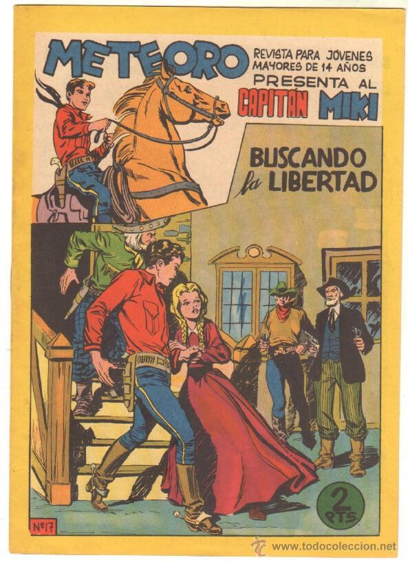 METEORO - EL CAPITAN MIKI ( EL PEQUEÑO HEROE ) ORIGINAL Nº 17 EDI. MAGA 1964 (Tebeos y Comics - Maga - Pequeño Héroe)