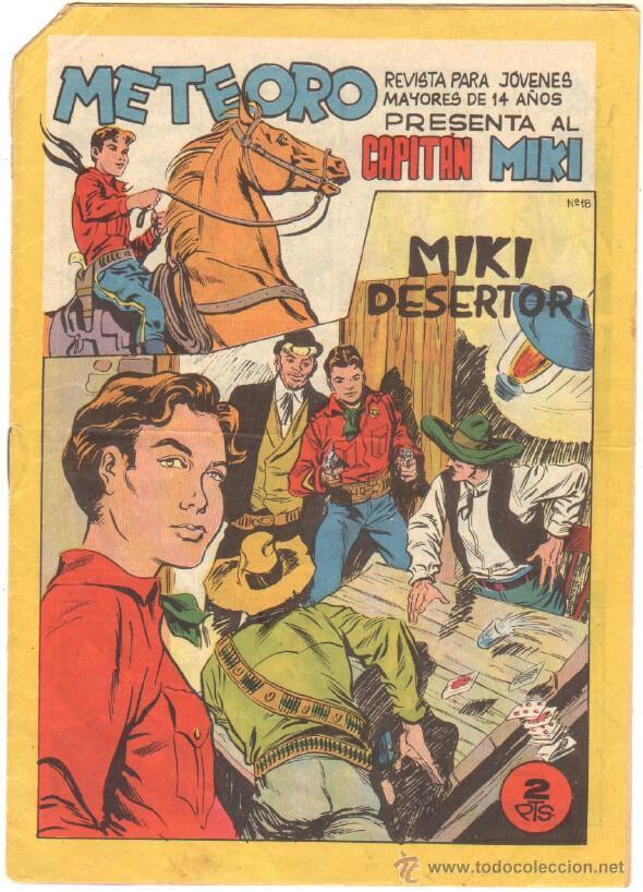 METEORO - EL CAPITAN MIKI ( EL PEQUEÑO HEROE ) ORIGINAL Nº 18 EDI. MAGA 1964 (Tebeos y Comics - Maga - Pequeño Héroe)