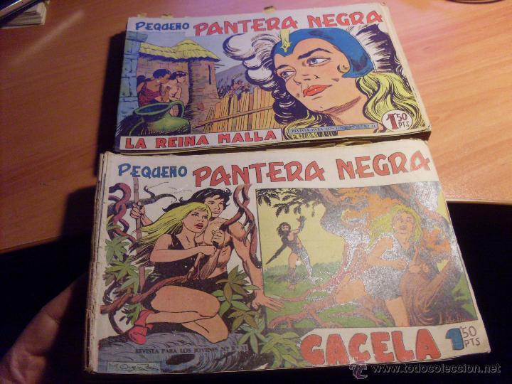 PEQUEÑO PANTERA NEGRA. LOTE 39 ENTRE EL 125 Y EL 212 (ED. MAGA ORIGINALES )(CLA17) (Tebeos y Comics - Maga - Pantera Negra)