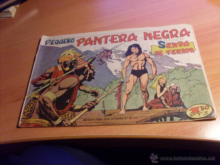Tebeos: PEQUEÑO PANTERA NEGRA. LOTE 39 ENTRE EL 125 Y EL 212 (ED. MAGA ORIGINALES )(CLA17) - Foto 5 - 48648183