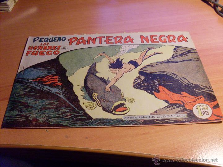 Tebeos: PEQUEÑO PANTERA NEGRA. LOTE 39 ENTRE EL 125 Y EL 212 (ED. MAGA ORIGINALES )(CLA17) - Foto 55 - 48648183