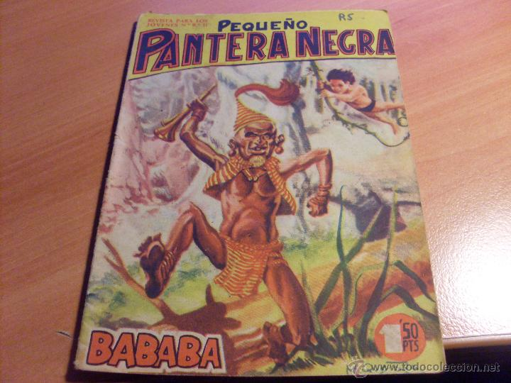 Tebeos: PEQUEÑO PANTERA NEGRA. LOTE de 47 ENTRE EL 69 Y EL 123 (ORIGINALES MAGA) (COIB186) - Foto 11 - 48650699
