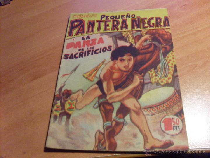 Tebeos: PEQUEÑO PANTERA NEGRA. LOTE de 47 ENTRE EL 69 Y EL 123 (ORIGINALES MAGA) (COIB186) - Foto 21 - 48650699