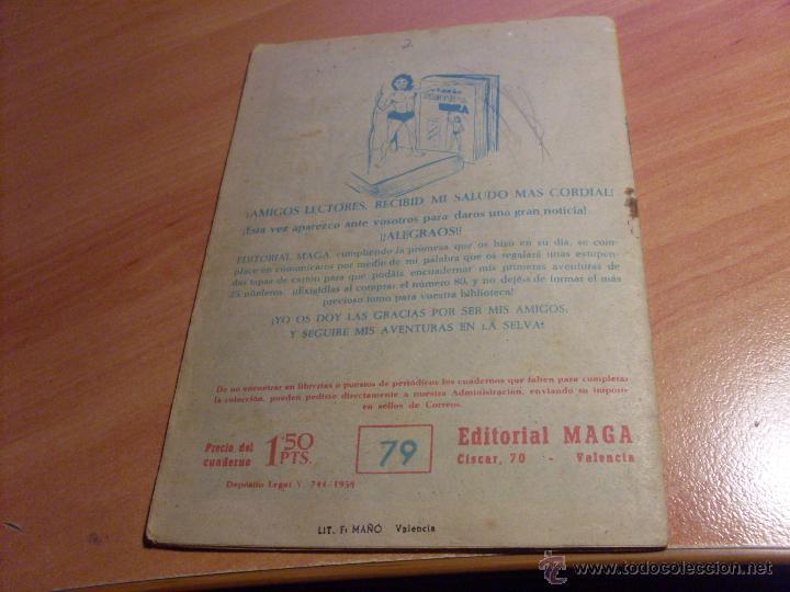 Tebeos: PEQUEÑO PANTERA NEGRA. LOTE de 47 ENTRE EL 69 Y EL 123 (ORIGINALES MAGA) (COIB186) - Foto 24 - 48650699