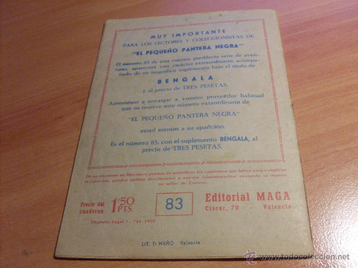 Tebeos: PEQUEÑO PANTERA NEGRA. LOTE de 47 ENTRE EL 69 Y EL 123 (ORIGINALES MAGA) (COIB186) - Foto 32 - 48650699