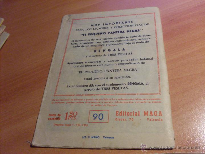 Tebeos: PEQUEÑO PANTERA NEGRA. LOTE de 47 ENTRE EL 69 Y EL 123 (ORIGINALES MAGA) (COIB186) - Foto 38 - 48650699