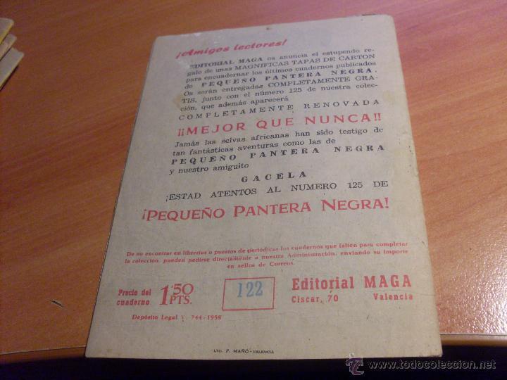 Tebeos: PEQUEÑO PANTERA NEGRA. LOTE de 47 ENTRE EL 69 Y EL 123 (ORIGINALES MAGA) (COIB186) - Foto 94 - 48650699