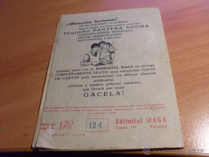 Tebeos: PEQUEÑO PANTERA NEGRA. LOTE de 47 ENTRE EL 69 Y EL 123 (ORIGINALES MAGA) (COIB186) - Foto 98 - 48650699