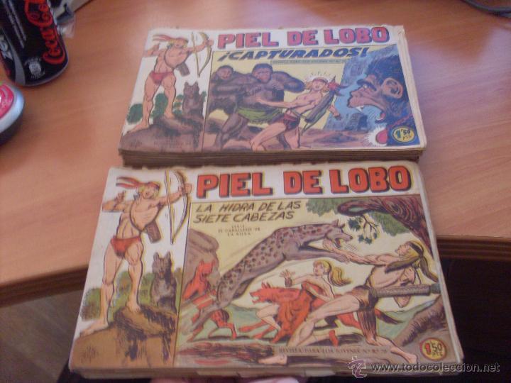 PIEL DE LOBO LOTE 51 EJEMPLARES (ED. MAGA. ORIGINAL) (CLA17) (Tebeos y Comics - Maga - Piel de Lobo)