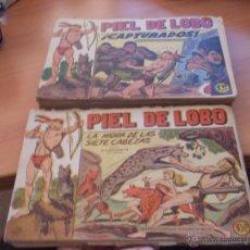 Tebeos: PIEL DE LOBO LOTE 51 EJEMPLARES (ED. MAGA. ORIGINAL) (CLA17). Lote 48659188
