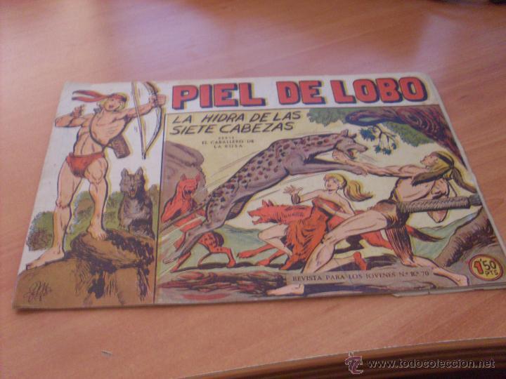 Tebeos: PIEL DE LOBO LOTE 51 EJEMPLARES (ED. MAGA. ORIGINAL) (CLA17) - Foto 3 - 48659188