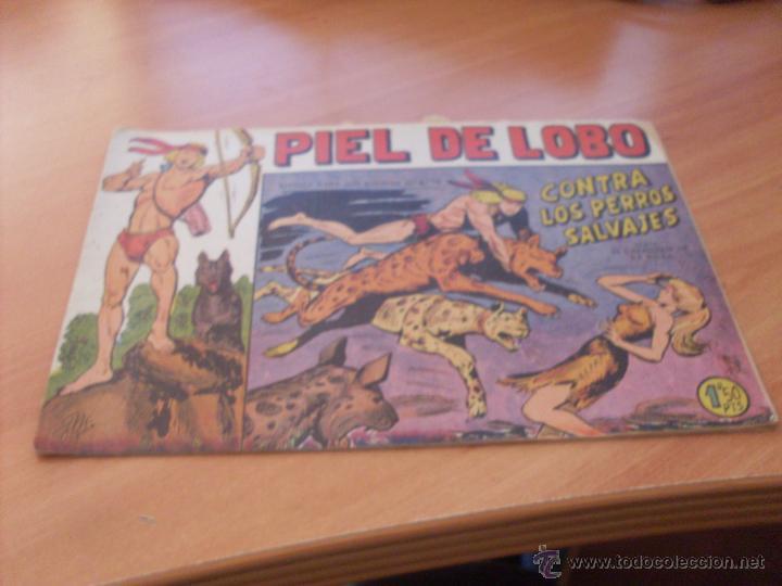 Tebeos: PIEL DE LOBO LOTE 51 EJEMPLARES (ED. MAGA. ORIGINAL) (CLA17) - Foto 5 - 48659188