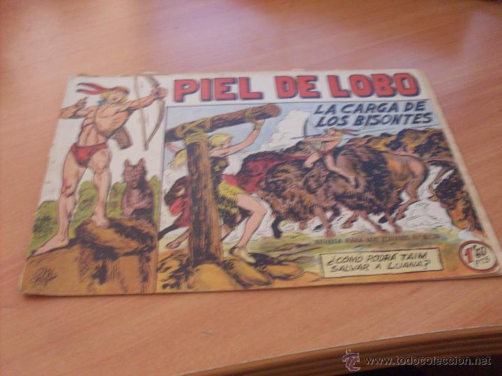 Tebeos: PIEL DE LOBO LOTE 51 EJEMPLARES (ED. MAGA. ORIGINAL) (CLA17) - Foto 7 - 48659188