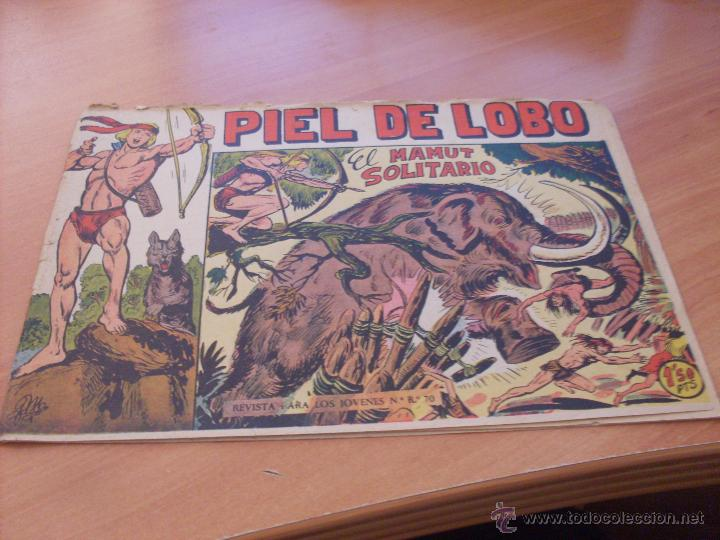 Tebeos: PIEL DE LOBO LOTE 51 EJEMPLARES (ED. MAGA. ORIGINAL) (CLA17) - Foto 9 - 48659188