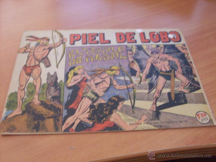 Tebeos: PIEL DE LOBO LOTE 51 EJEMPLARES (ED. MAGA. ORIGINAL) (CLA17) - Foto 11 - 48659188
