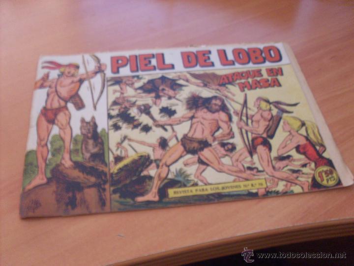 Tebeos: PIEL DE LOBO LOTE 51 EJEMPLARES (ED. MAGA. ORIGINAL) (CLA17) - Foto 13 - 48659188