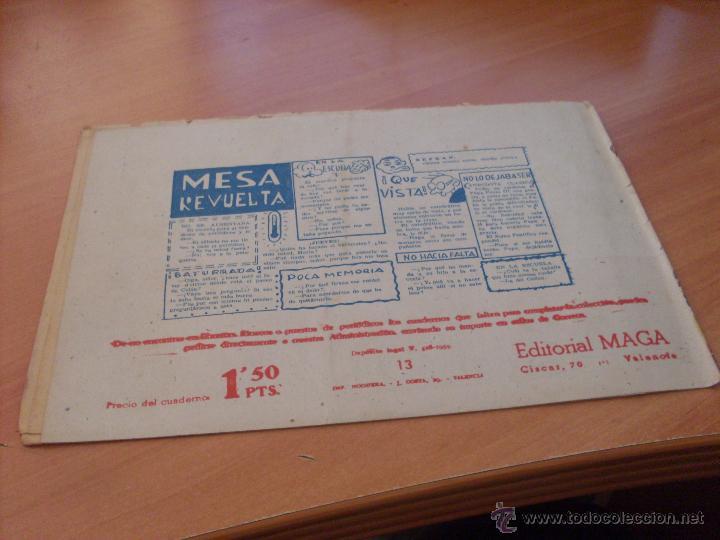 Tebeos: PIEL DE LOBO LOTE 51 EJEMPLARES (ED. MAGA. ORIGINAL) (CLA17) - Foto 14 - 48659188