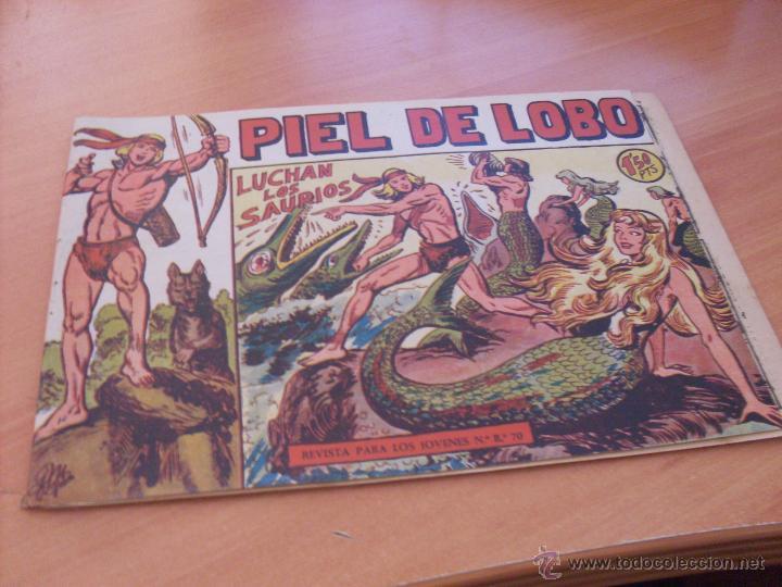 Tebeos: PIEL DE LOBO LOTE 51 EJEMPLARES (ED. MAGA. ORIGINAL) (CLA17) - Foto 15 - 48659188