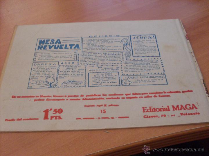 Tebeos: PIEL DE LOBO LOTE 51 EJEMPLARES (ED. MAGA. ORIGINAL) (CLA17) - Foto 16 - 48659188