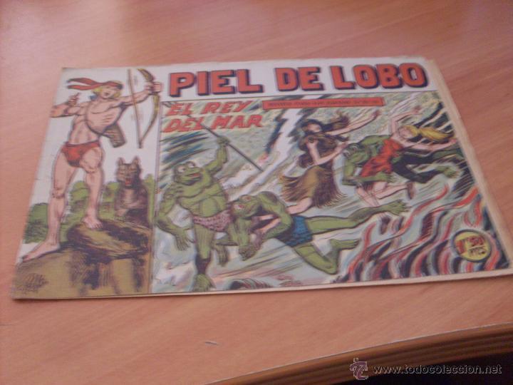 Tebeos: PIEL DE LOBO LOTE 51 EJEMPLARES (ED. MAGA. ORIGINAL) (CLA17) - Foto 17 - 48659188