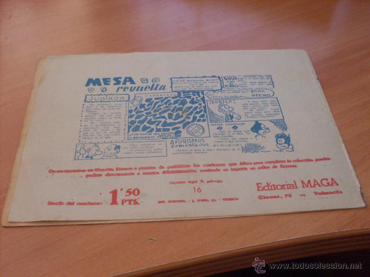 Tebeos: PIEL DE LOBO LOTE 51 EJEMPLARES (ED. MAGA. ORIGINAL) (CLA17) - Foto 18 - 48659188