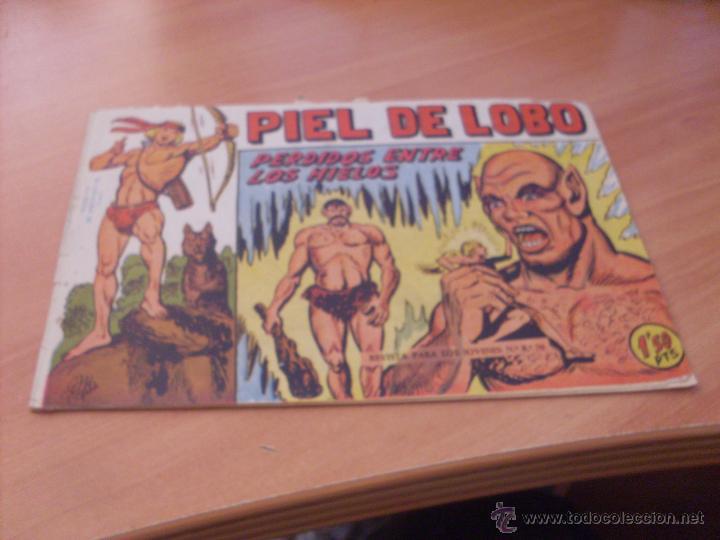 Tebeos: PIEL DE LOBO LOTE 51 EJEMPLARES (ED. MAGA. ORIGINAL) (CLA17) - Foto 19 - 48659188