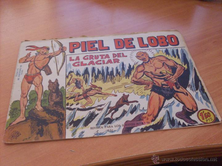 Tebeos: PIEL DE LOBO LOTE 51 EJEMPLARES (ED. MAGA. ORIGINAL) (CLA17) - Foto 21 - 48659188