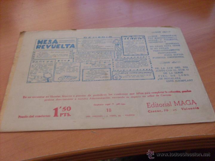 Tebeos: PIEL DE LOBO LOTE 51 EJEMPLARES (ED. MAGA. ORIGINAL) (CLA17) - Foto 22 - 48659188