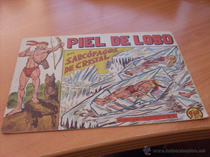 Tebeos: PIEL DE LOBO LOTE 51 EJEMPLARES (ED. MAGA. ORIGINAL) (CLA17) - Foto 23 - 48659188