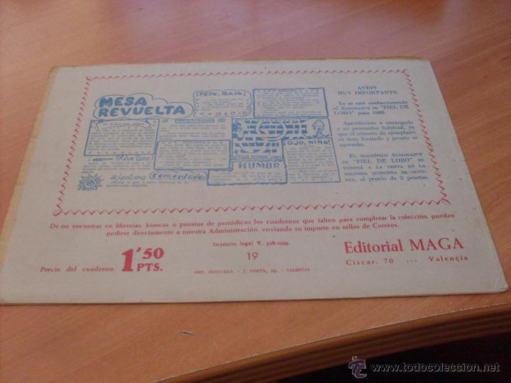 Tebeos: PIEL DE LOBO LOTE 51 EJEMPLARES (ED. MAGA. ORIGINAL) (CLA17) - Foto 24 - 48659188