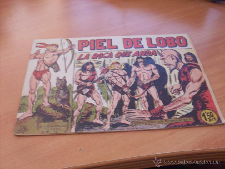 Tebeos: PIEL DE LOBO LOTE 51 EJEMPLARES (ED. MAGA. ORIGINAL) (CLA17) - Foto 25 - 48659188