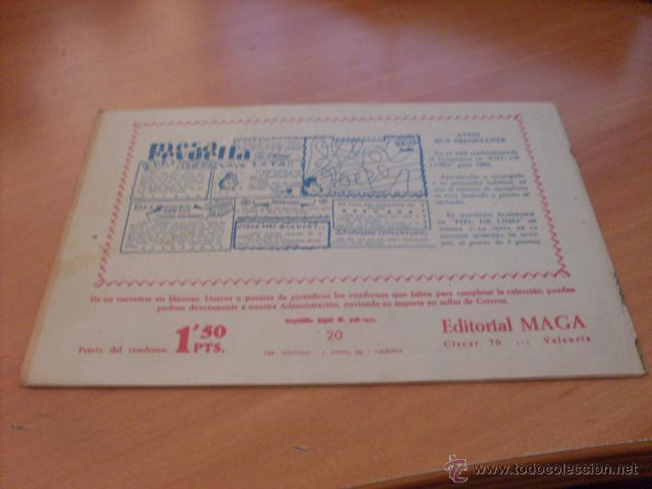 Tebeos: PIEL DE LOBO LOTE 51 EJEMPLARES (ED. MAGA. ORIGINAL) (CLA17) - Foto 26 - 48659188