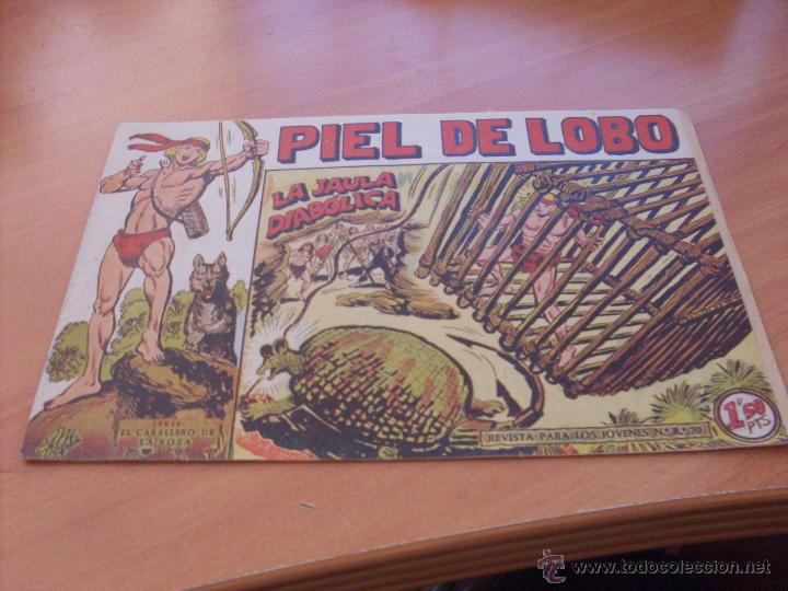 Tebeos: PIEL DE LOBO LOTE 51 EJEMPLARES (ED. MAGA. ORIGINAL) (CLA17) - Foto 27 - 48659188