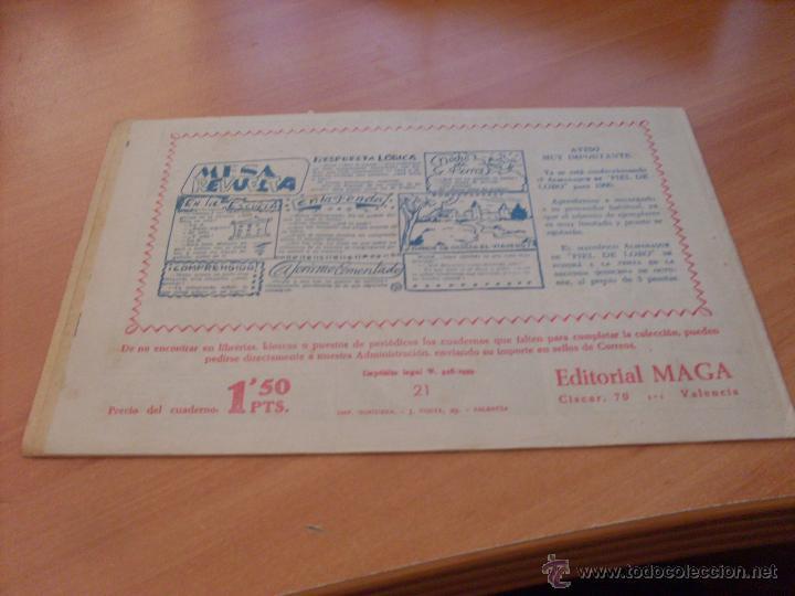 Tebeos: PIEL DE LOBO LOTE 51 EJEMPLARES (ED. MAGA. ORIGINAL) (CLA17) - Foto 28 - 48659188