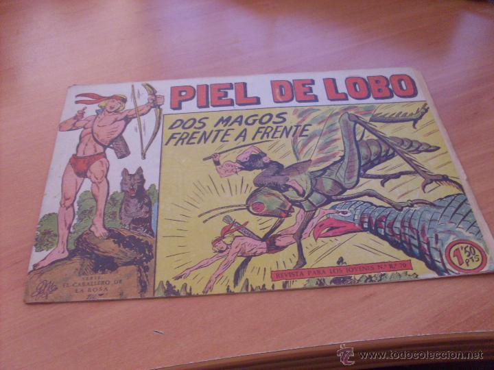 Tebeos: PIEL DE LOBO LOTE 51 EJEMPLARES (ED. MAGA. ORIGINAL) (CLA17) - Foto 29 - 48659188