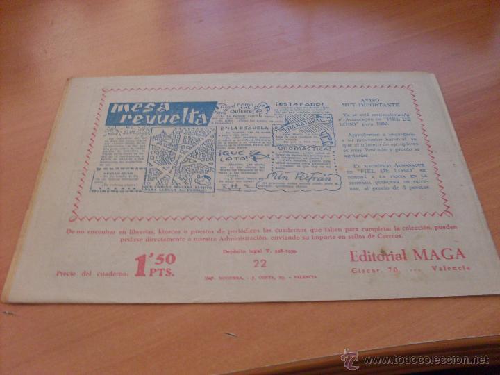 Tebeos: PIEL DE LOBO LOTE 51 EJEMPLARES (ED. MAGA. ORIGINAL) (CLA17) - Foto 30 - 48659188