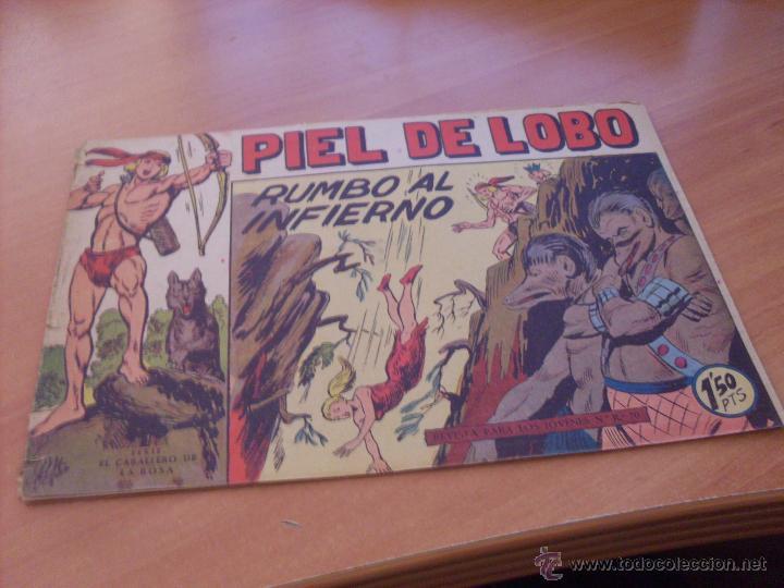 Tebeos: PIEL DE LOBO LOTE 51 EJEMPLARES (ED. MAGA. ORIGINAL) (CLA17) - Foto 31 - 48659188