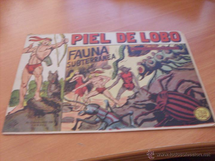 Tebeos: PIEL DE LOBO LOTE 51 EJEMPLARES (ED. MAGA. ORIGINAL) (CLA17) - Foto 33 - 48659188
