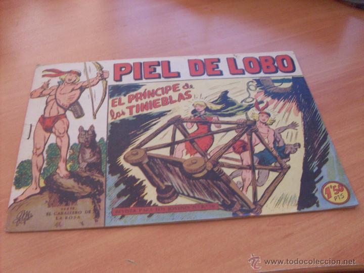 Tebeos: PIEL DE LOBO LOTE 51 EJEMPLARES (ED. MAGA. ORIGINAL) (CLA17) - Foto 35 - 48659188