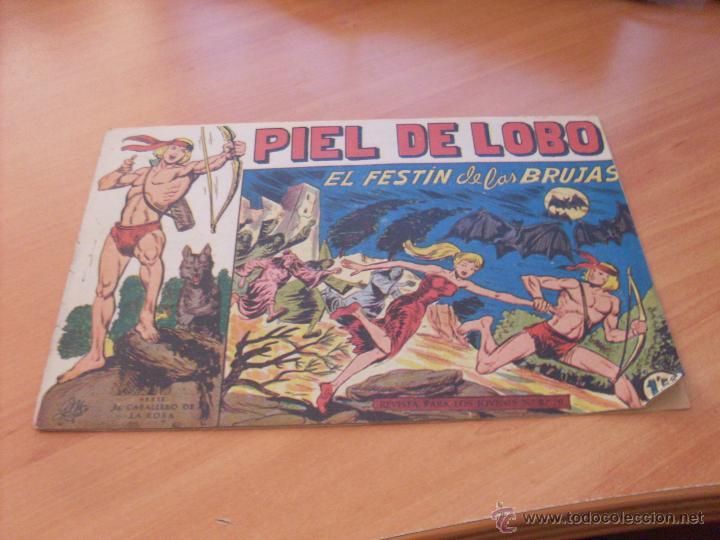 Tebeos: PIEL DE LOBO LOTE 51 EJEMPLARES (ED. MAGA. ORIGINAL) (CLA17) - Foto 37 - 48659188